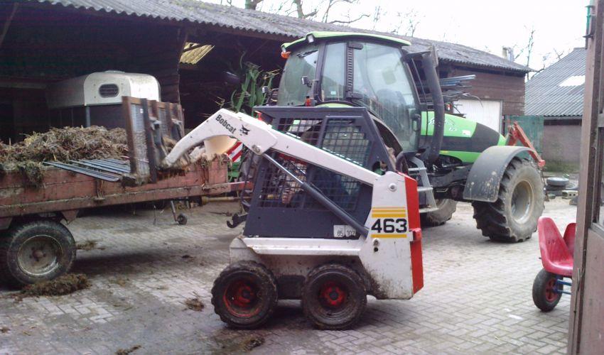 bobcat m600d fiche technique