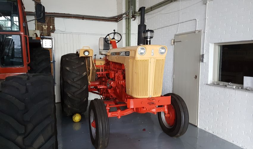 Comfort Covers For Tractors : Case comfort king fiche technique info france