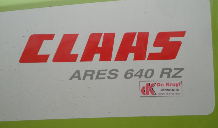 Claas Ares 640 RZ