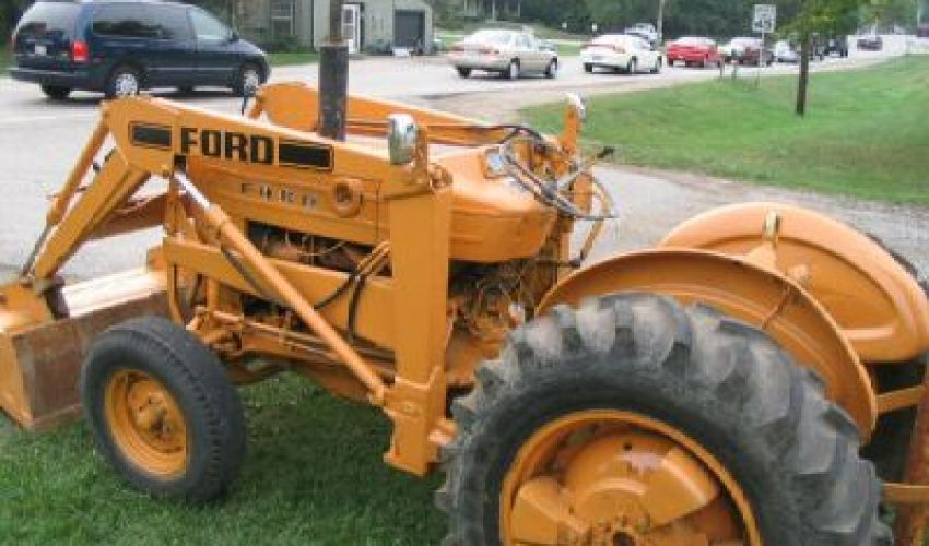 Ford 4400 Industrial Tractor : Ford industrial specs and data united kingdom