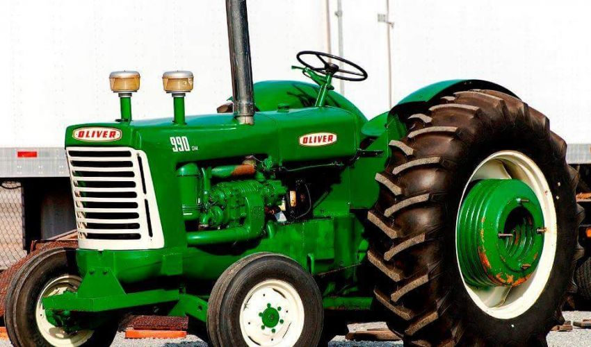 Oliver 990 Tractor : Oliver specs and data united kingdom