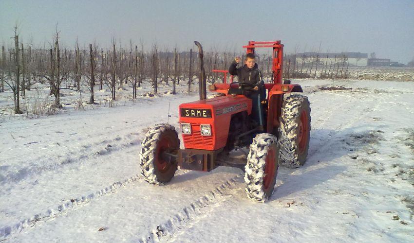 Fiche technique tracteur same aurora 45