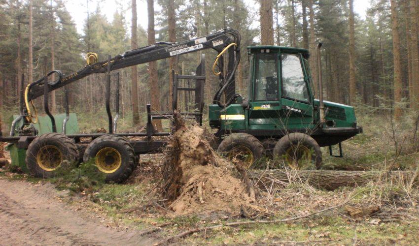 Timberjack 810B Forwarder