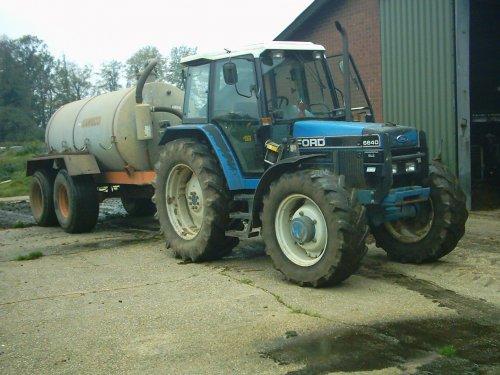 запчасти к трактору форд 6640 #3