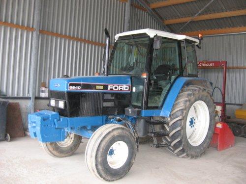 запчасти к трактору форд 6640 #4