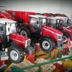 Landbouw miniaturen 1:32 Massey-Ferguson