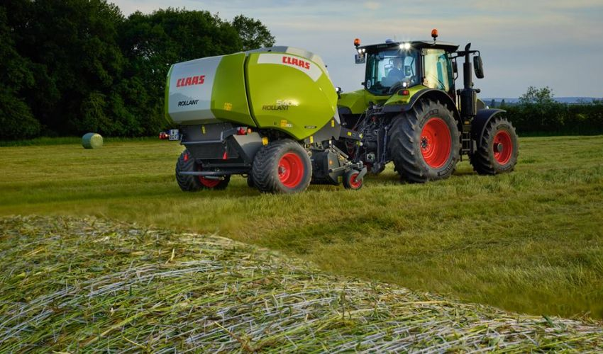 Claas Rollant 255