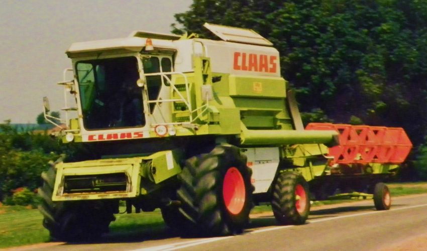 Claas Dominator 116 CS