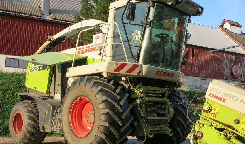 Claas Jaguar 830 Green Eye