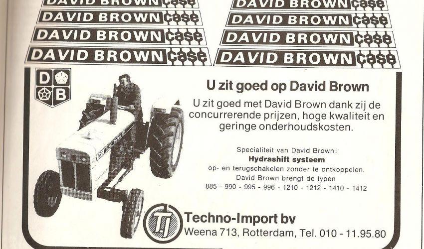 David Brown Folder