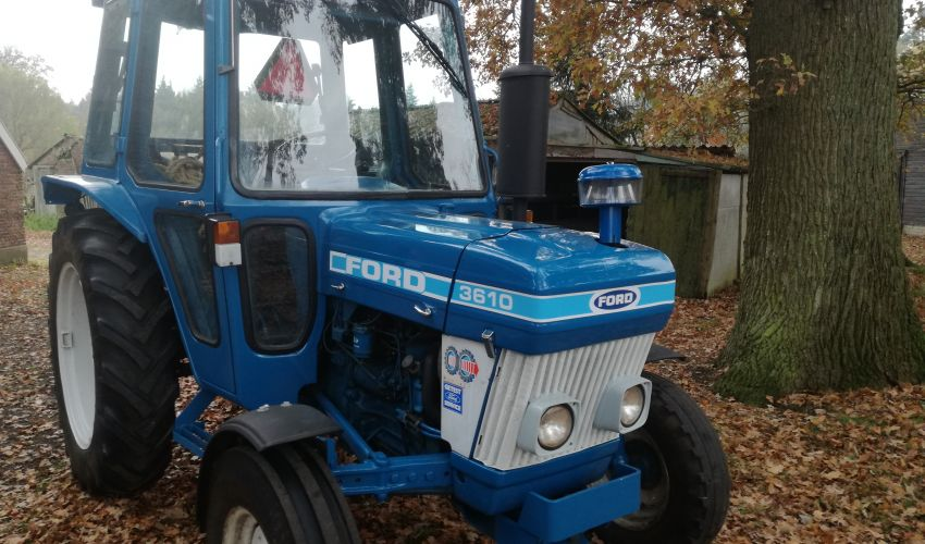 Ford 3610 Tractor : Ford specs and data united kingdom