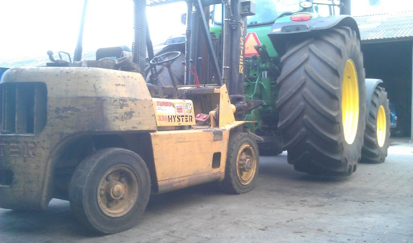 Tractor Turbo Cover : Hyster turbo specs and data united kingdom