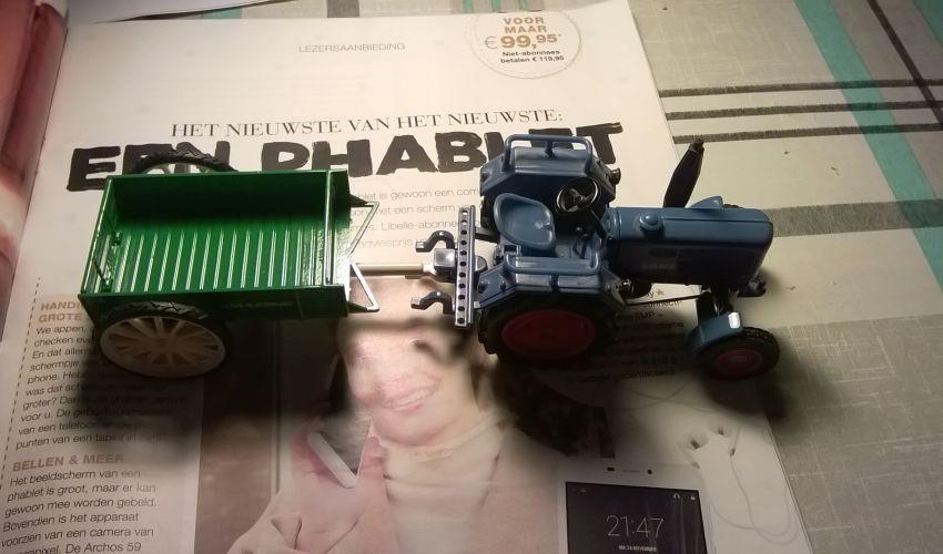 Landbouw miniaturen 1:32 Lanz