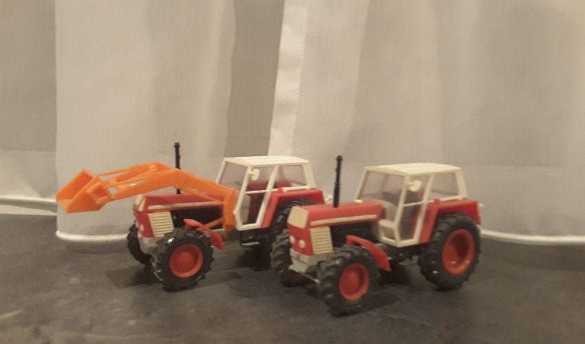 Landbouw miniaturen 1:43 Zetor