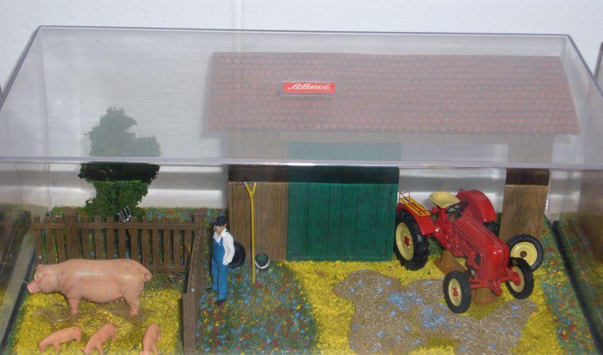 Landbouw miniaturen 1:43 Porsche