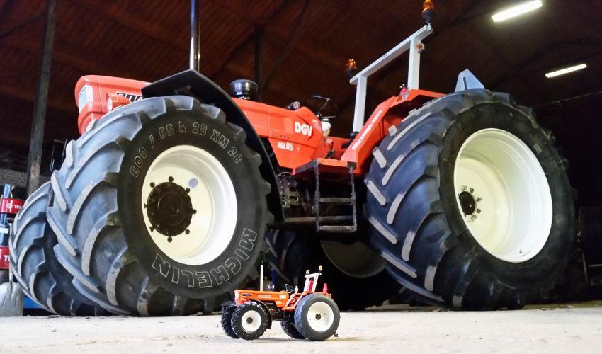 Landbouw miniaturen 1:32 Fiat