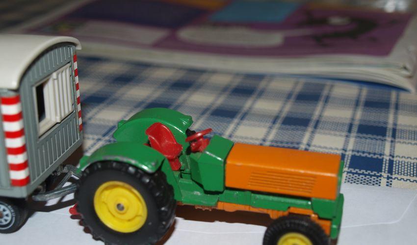 Landbouw miniaturen 1:43 Hanomag