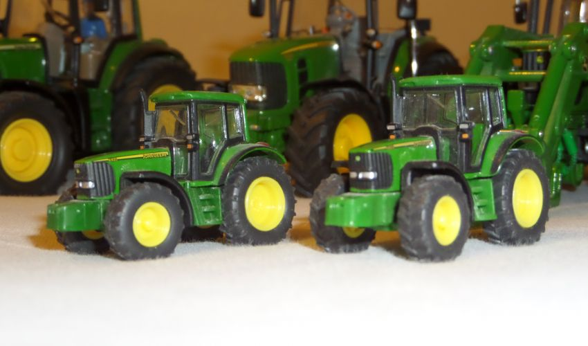 landbouwminiaturen 1:87 John Deere