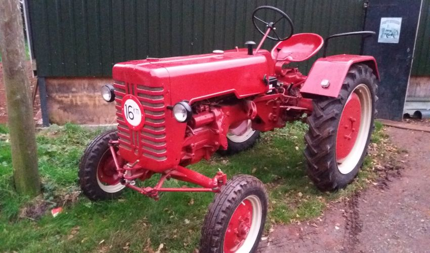 Farmall D 217 Specs and data - India