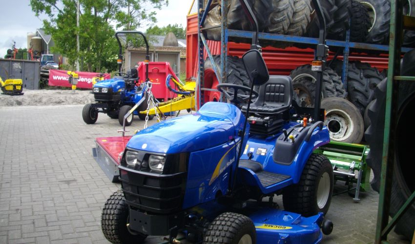 New Holland TZ24D