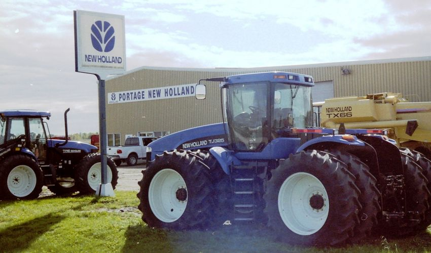 New Holland TJ 375
