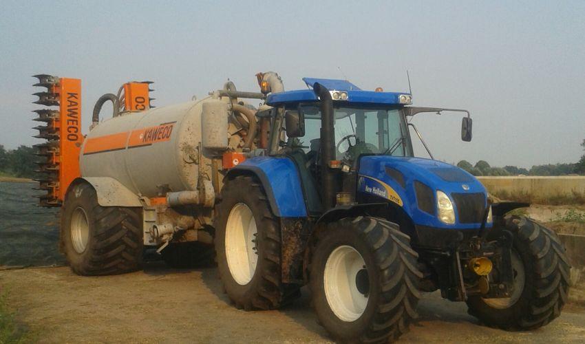 New Holland TVT 155