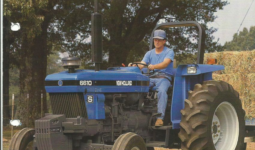 New Holland Folder