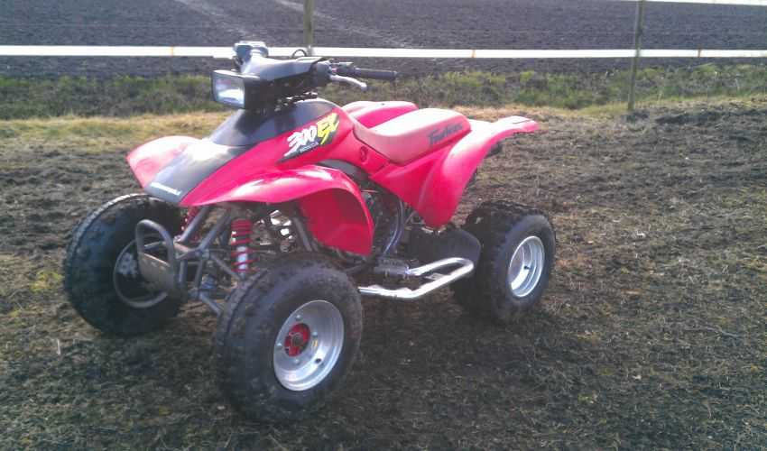 QUAD Honda - Big Red