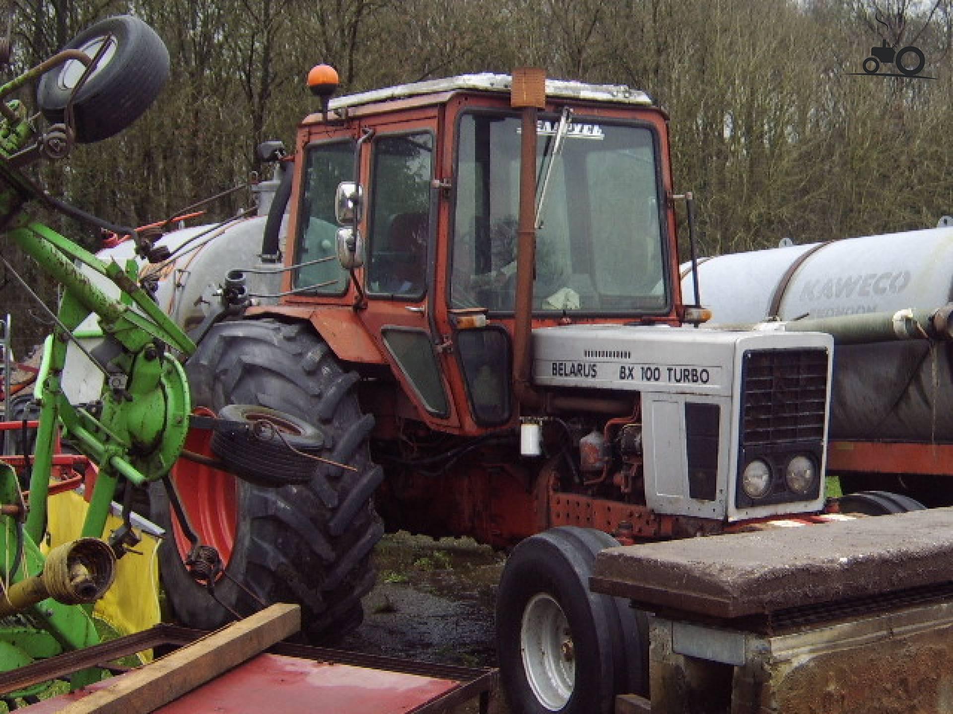 Трактор МТЗ-100 (Беларус). Технические характеристики.