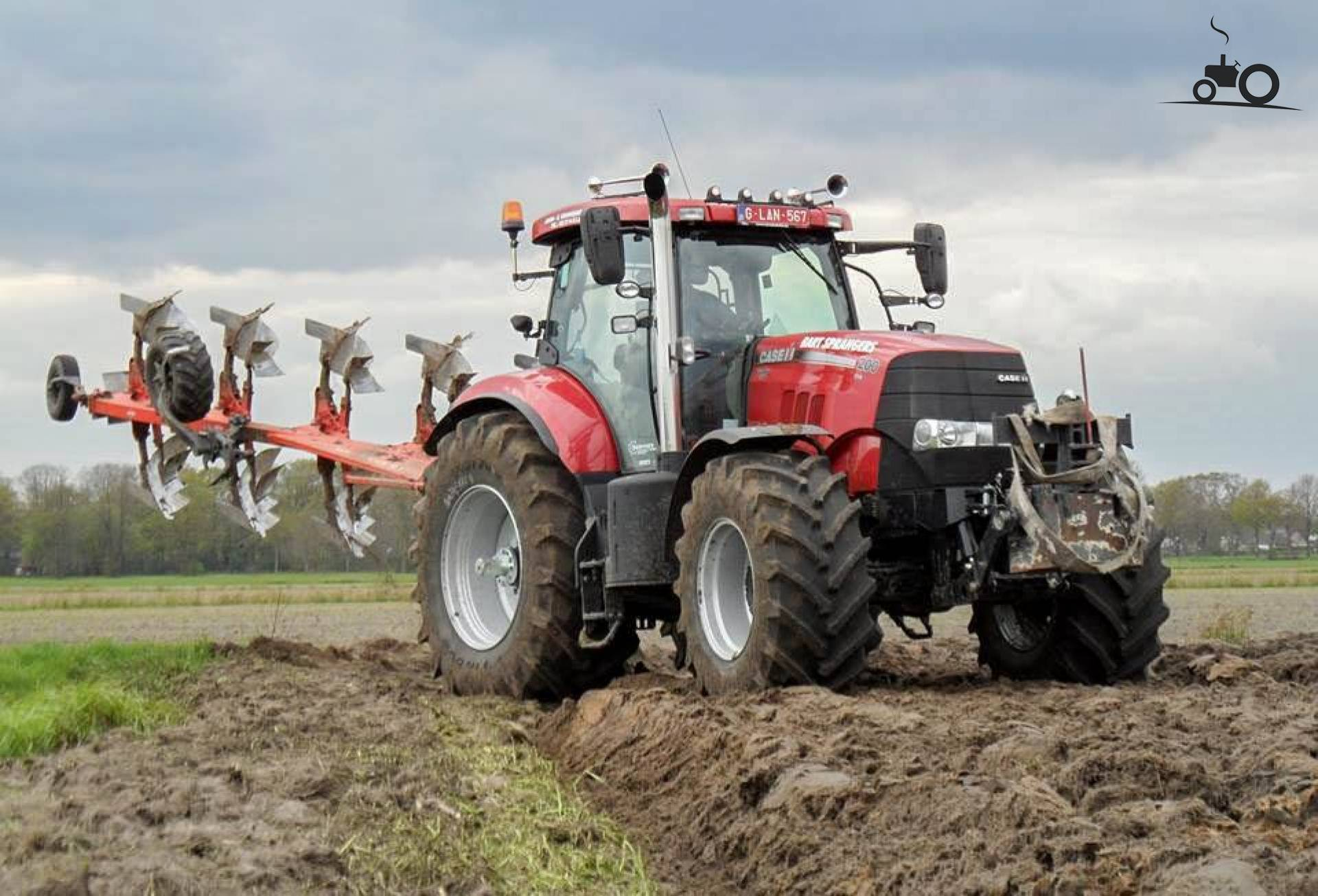 tractorfan 16 gras en mais komt tegelijk