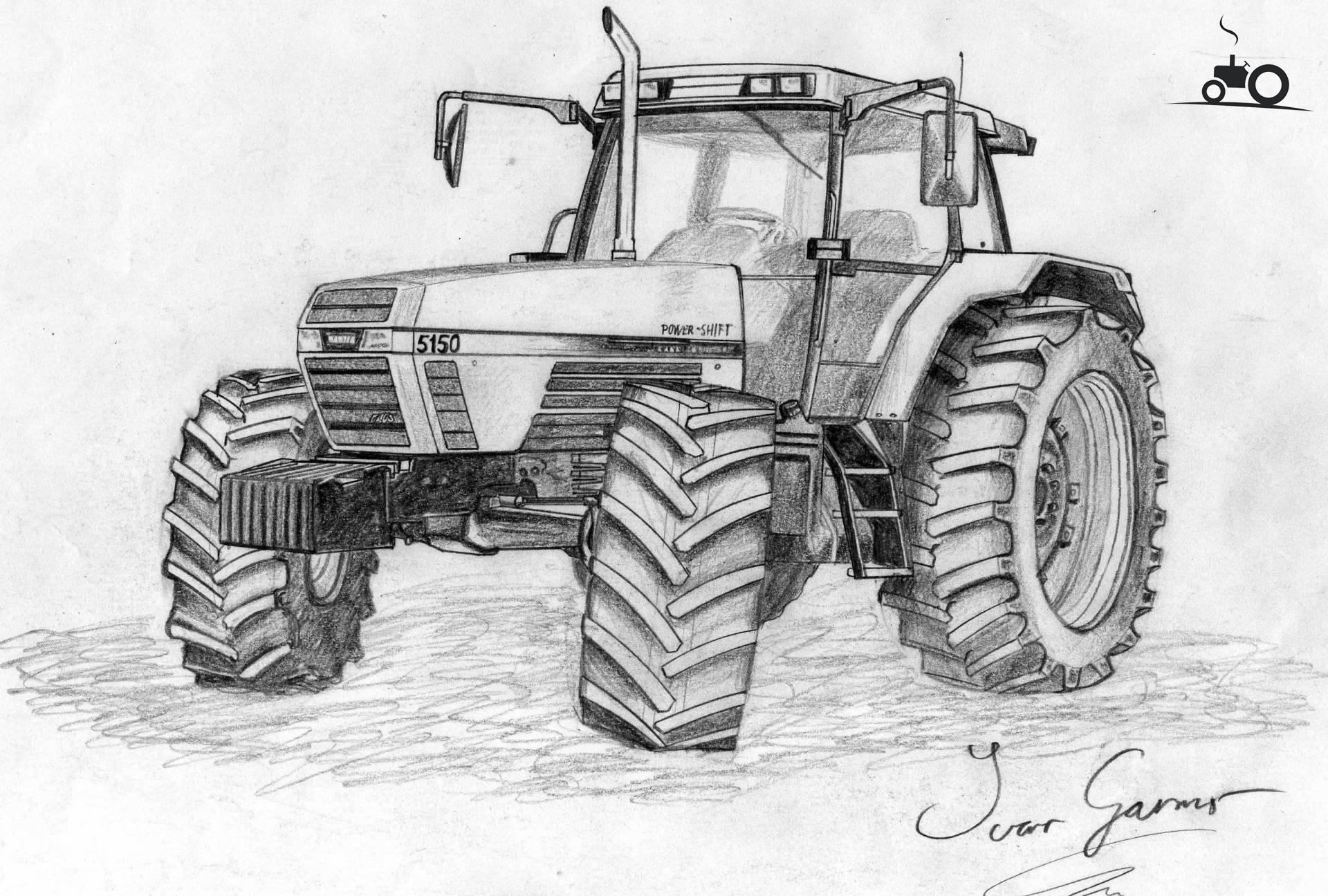 Kleurplaten Tractors Case.Kleurplaat Trekker John Deere Ausmalbilder Traktor 22 Ausmalbilder