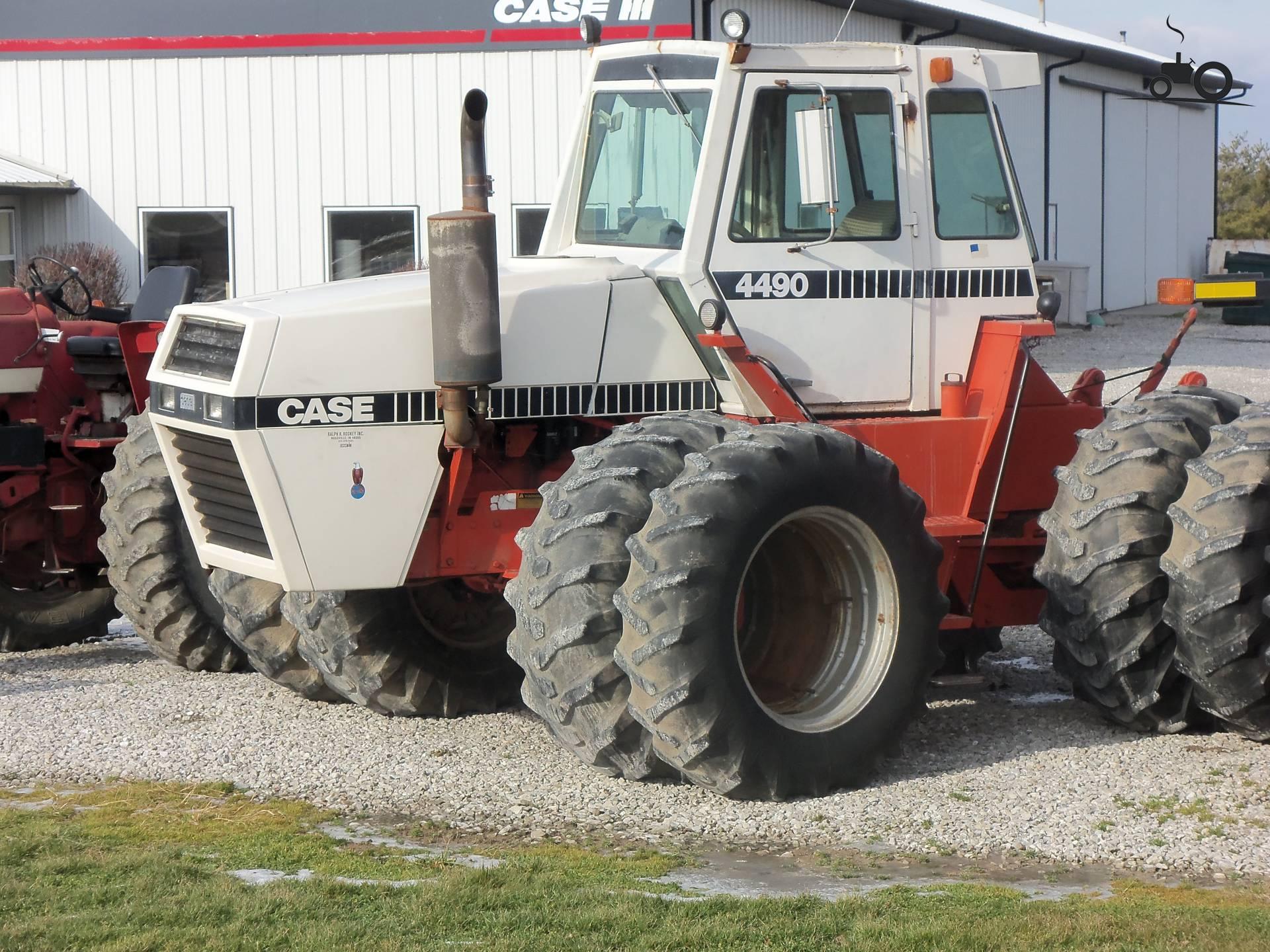 Case 4490 Tractor : Foto case