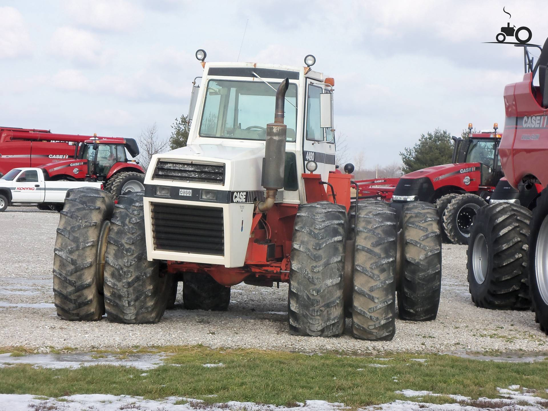 Case 4490 Tractor : Not found