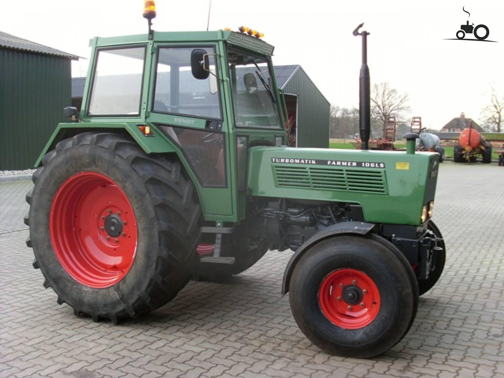 Foto fendt 106 128210 for Tractor verlichting