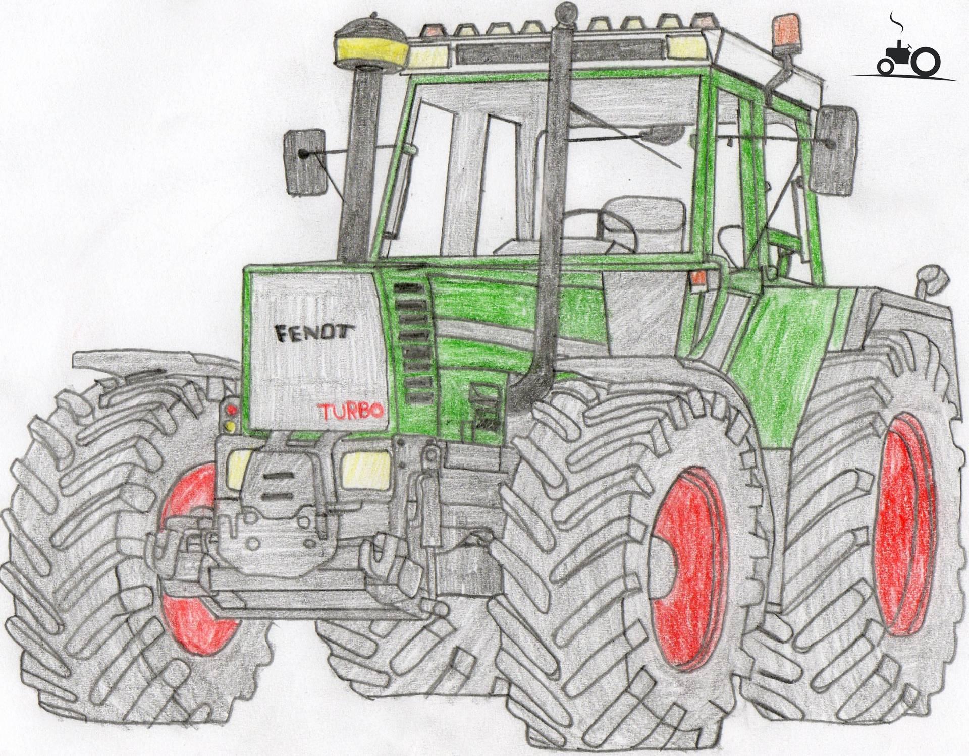 foto tractors tekening 589018