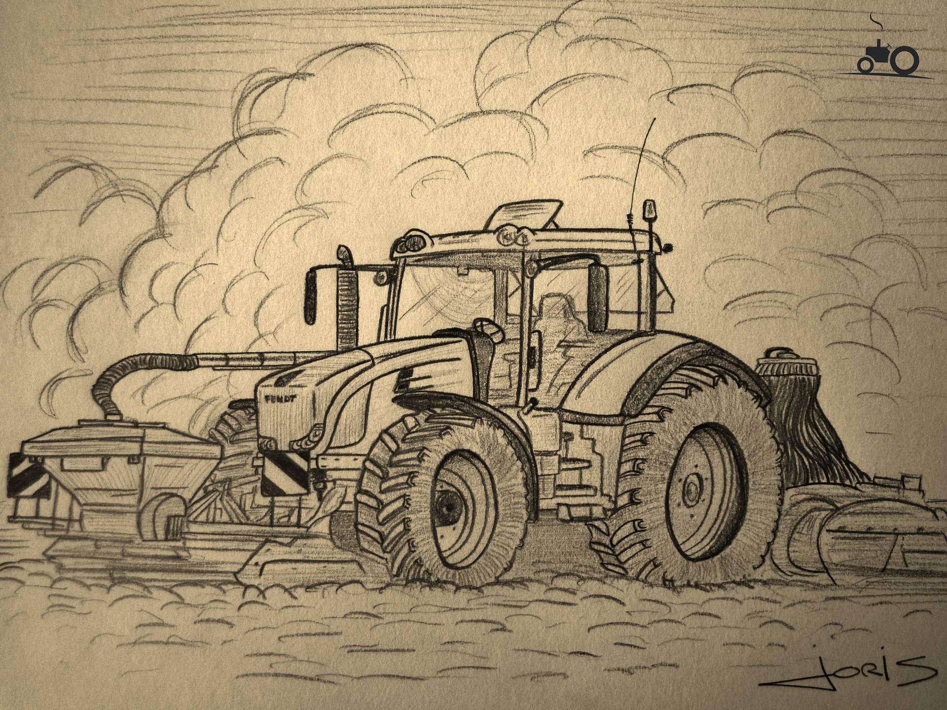 foto tractors tekening 855742