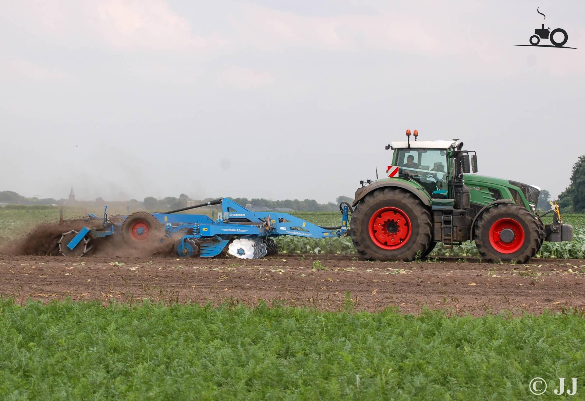 Van Dijck Groenteproducties.Foto Fendt 939 Van Van Dijck Groenteproducties Bv
