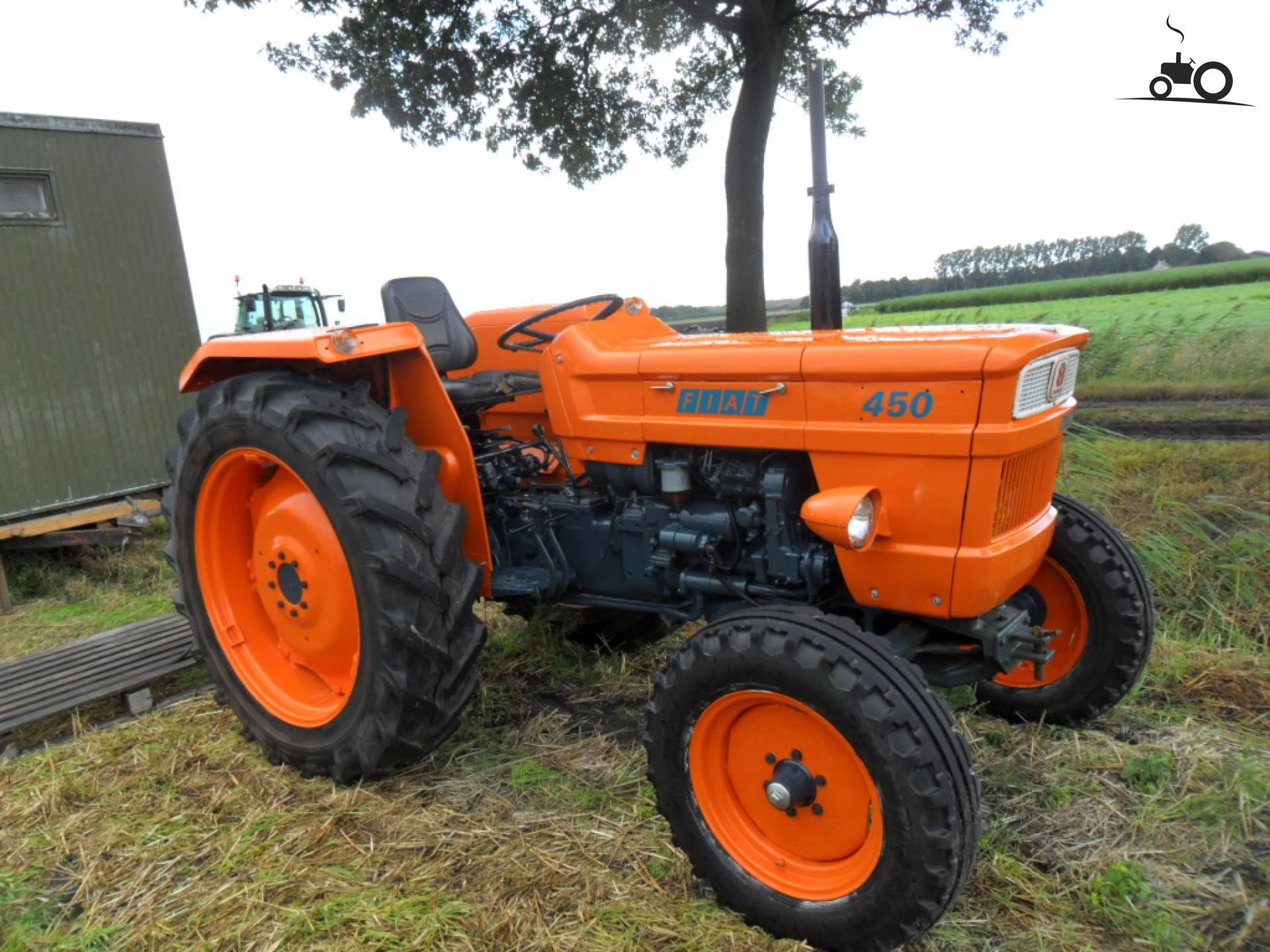Trattore Agricolo Fiat 450 Dt Trattore Agricolo Fiat 420 Dt Trattore