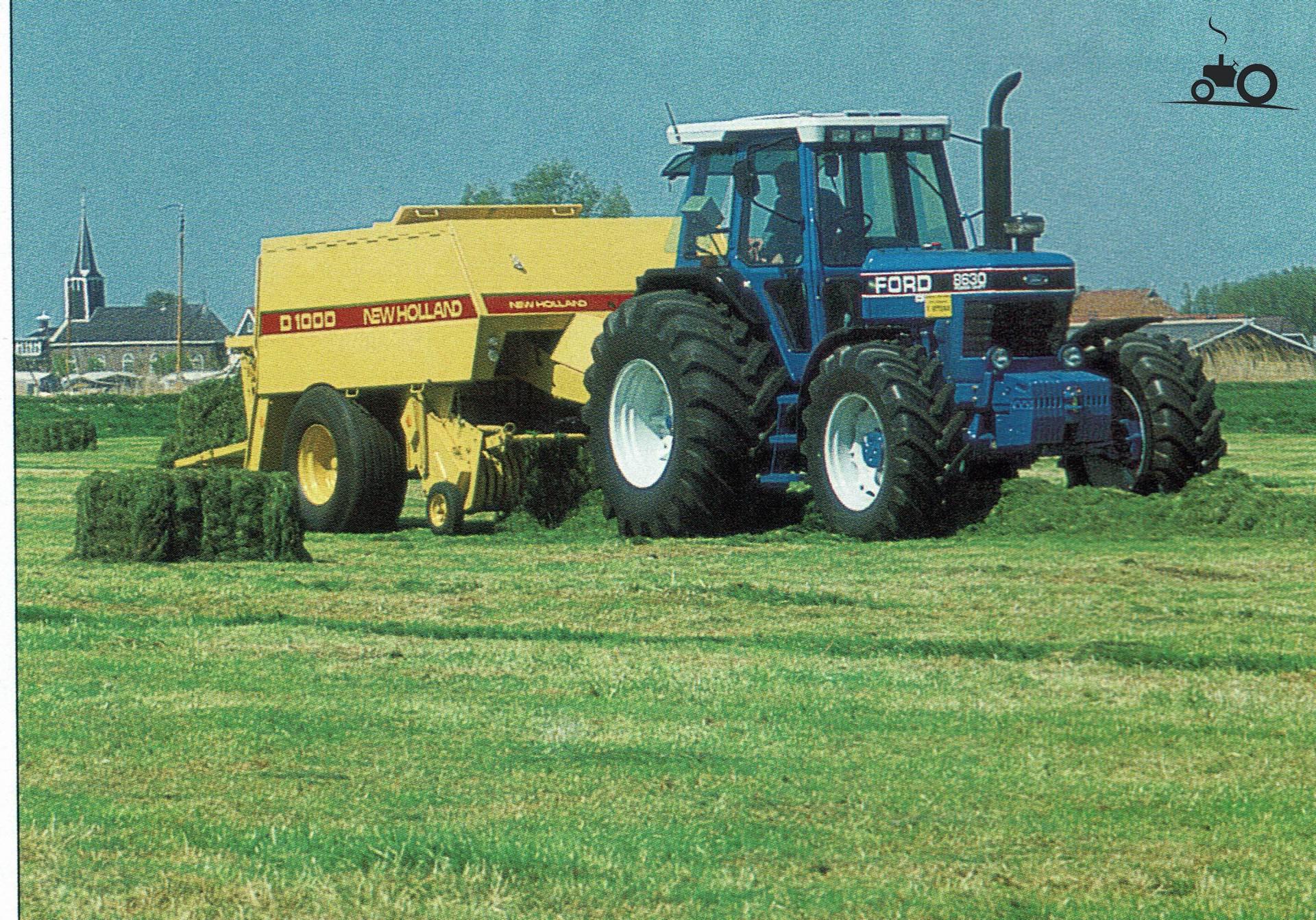 Купить трактор Ford 8630, год , 8024 часов, в Дании ...