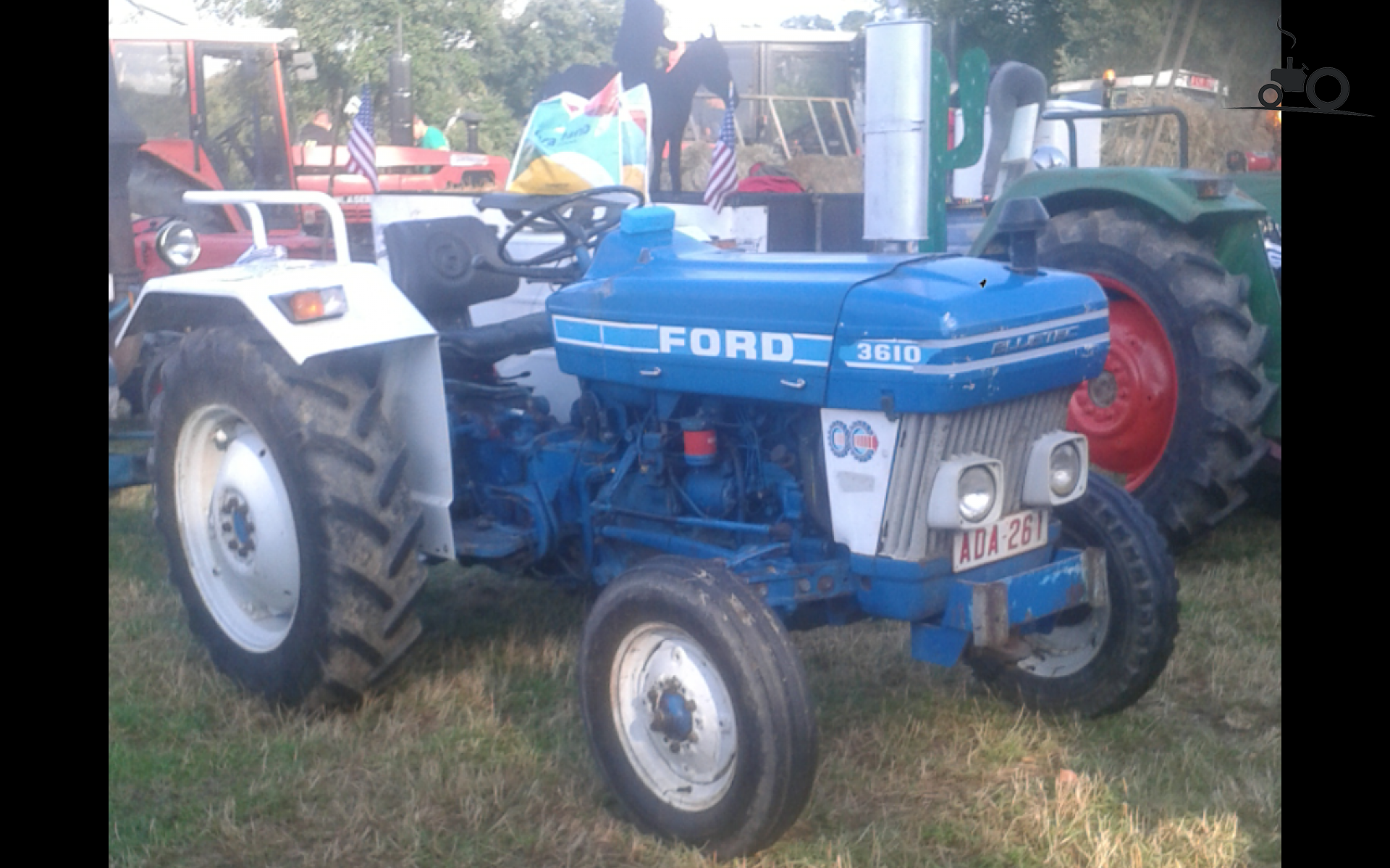 Ford 3610 Tractor : Foto ford