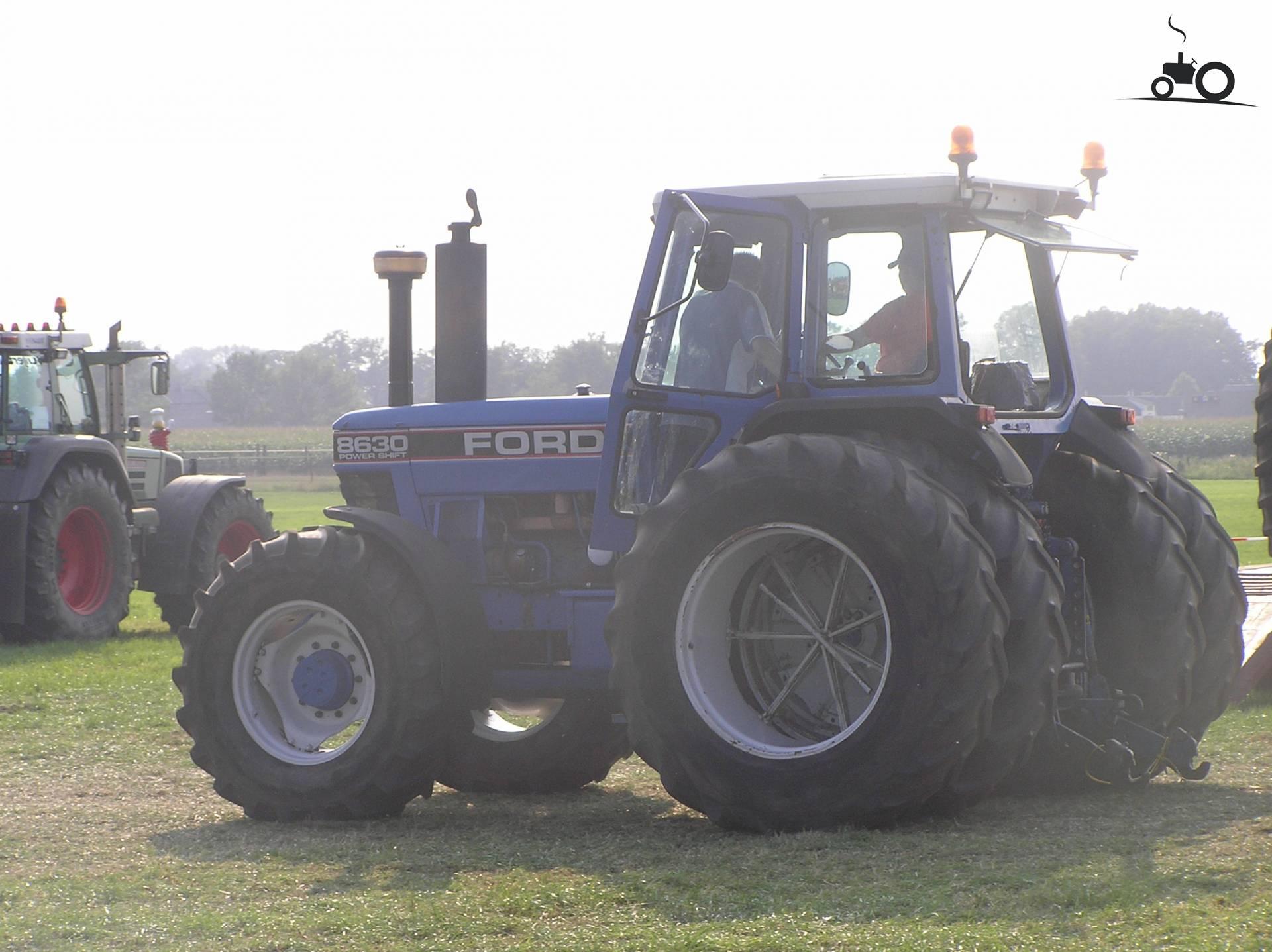 трактор форд 8630 #10