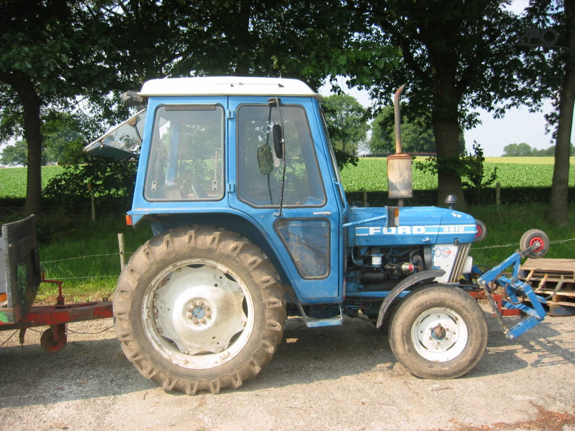 Ford 3610 Tractor : Picture ford