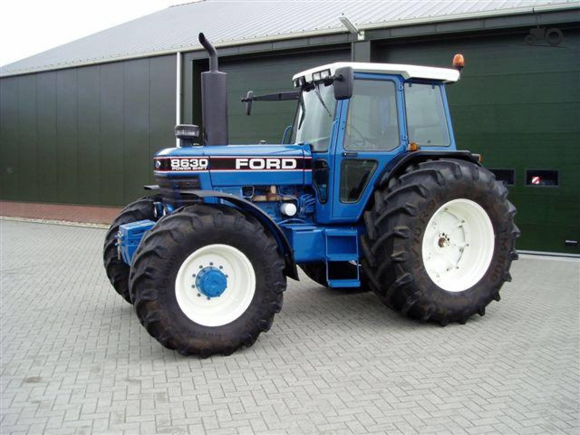 Купить трактор Ford 8630, год 1992, 9100 часов, по цене 1 ...