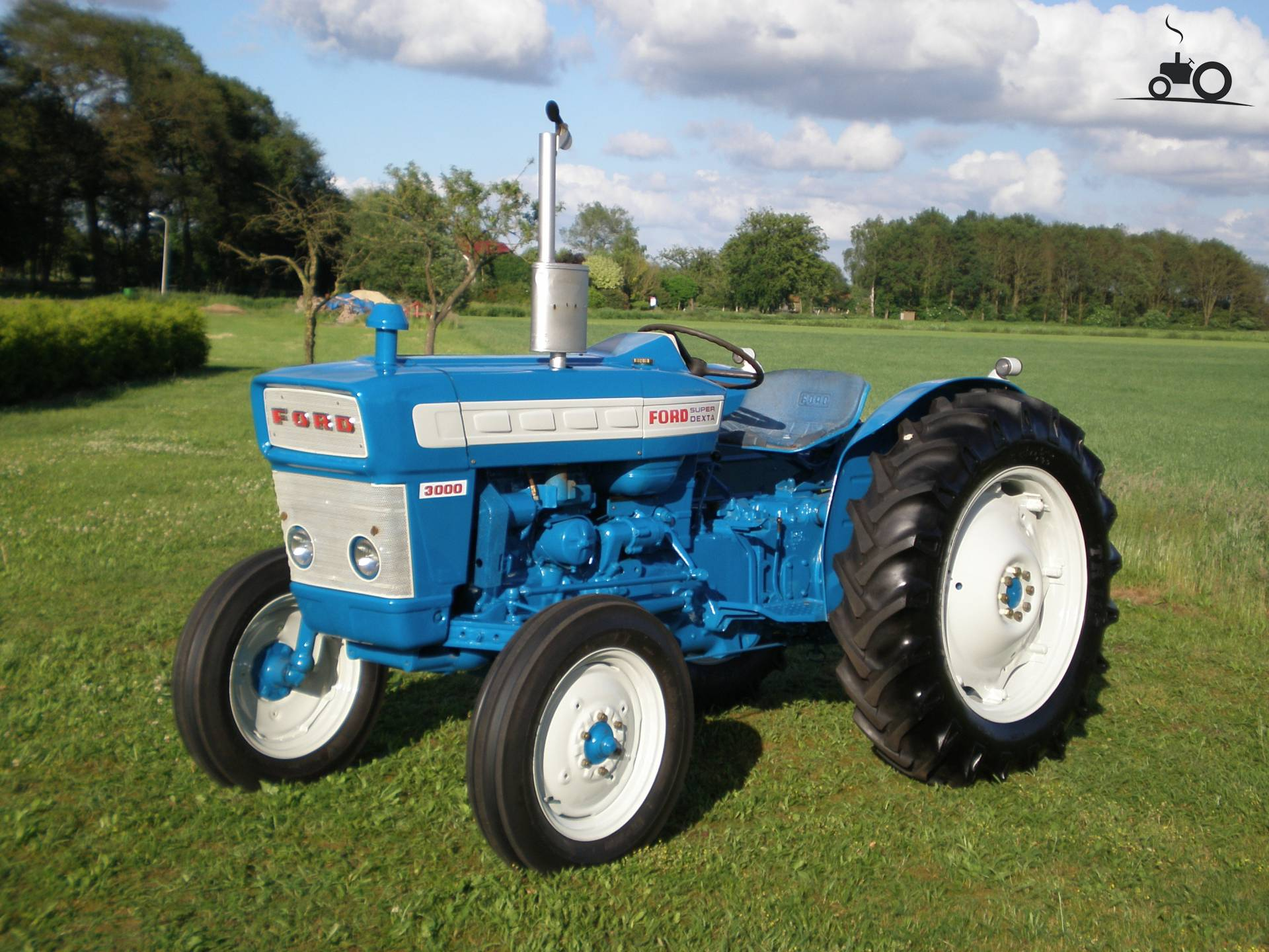 1965 Ford 3000 Tractor : Foto ford