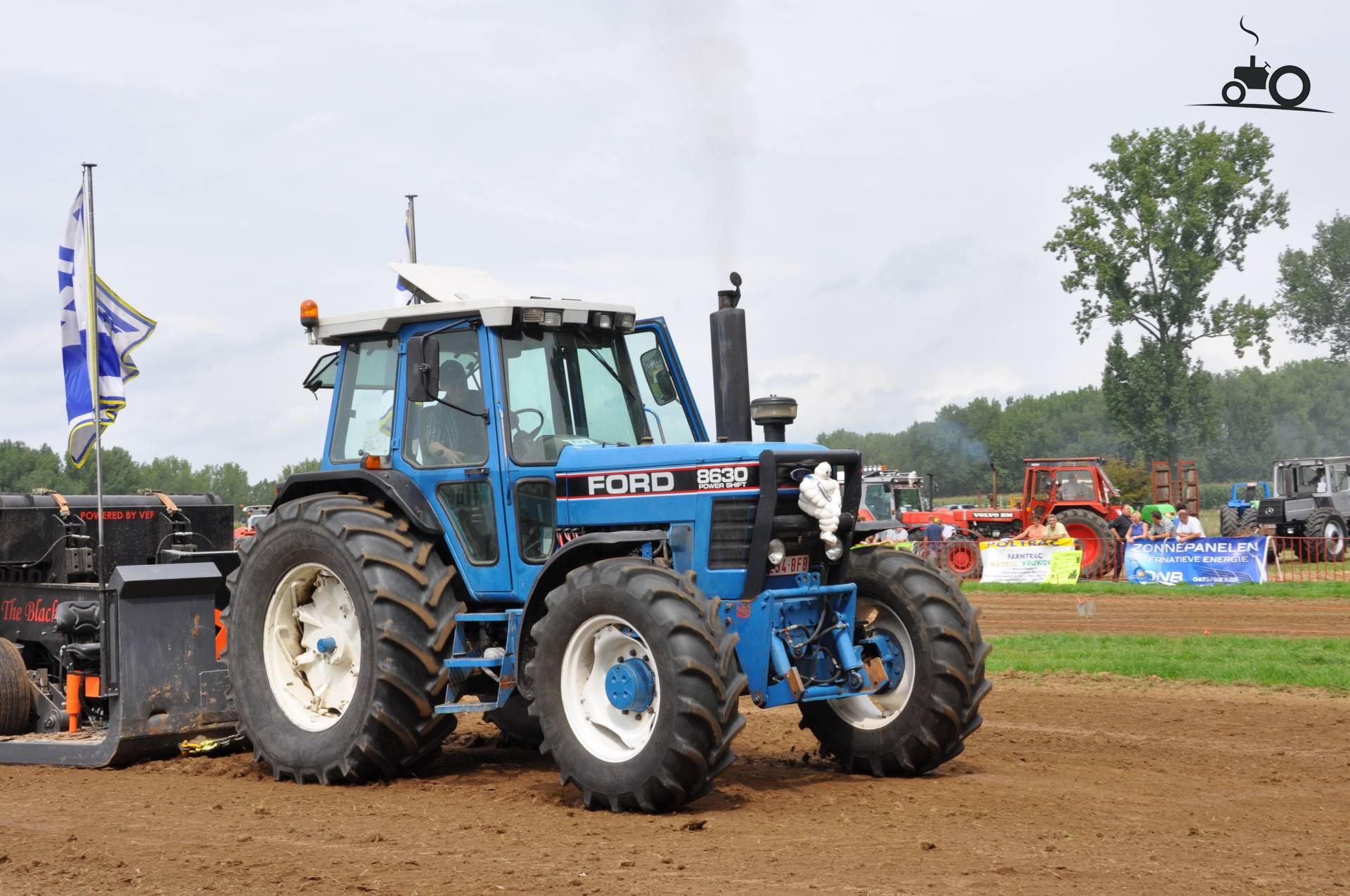 трактор форд 8630 #11