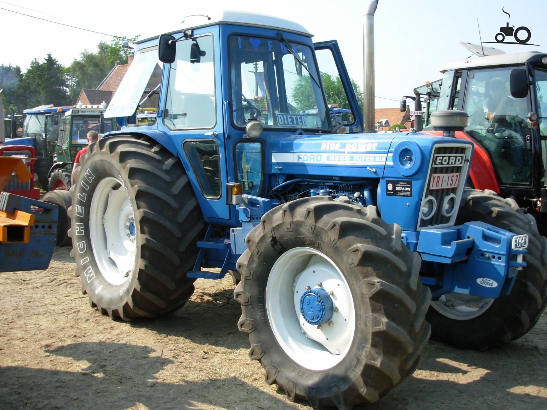 Ford F 6600 Tractor Wiring Diagram 3