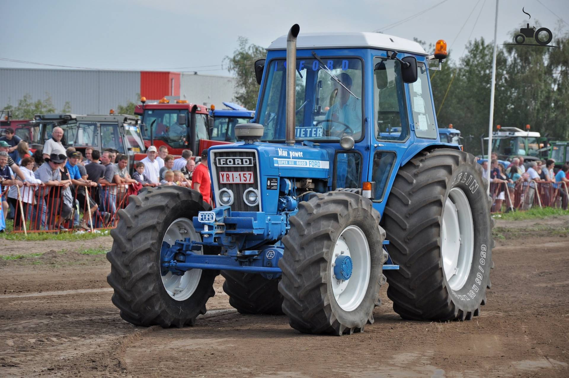 Ford 6600 Tractor : Ford f