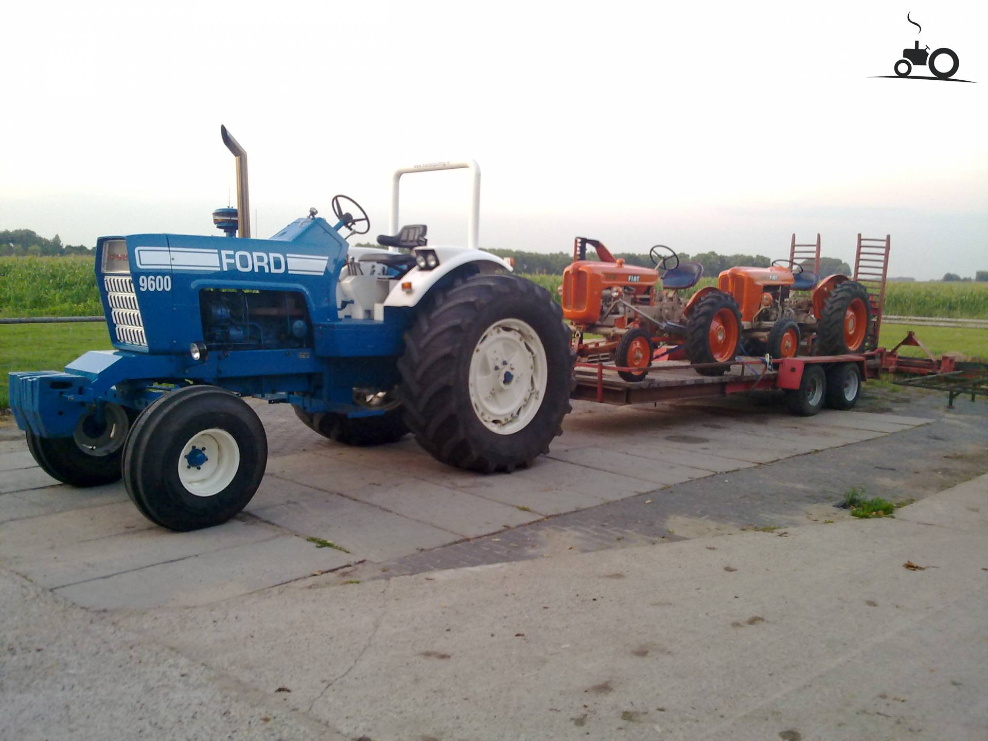 Ford 9600 Tractor : Picture ford