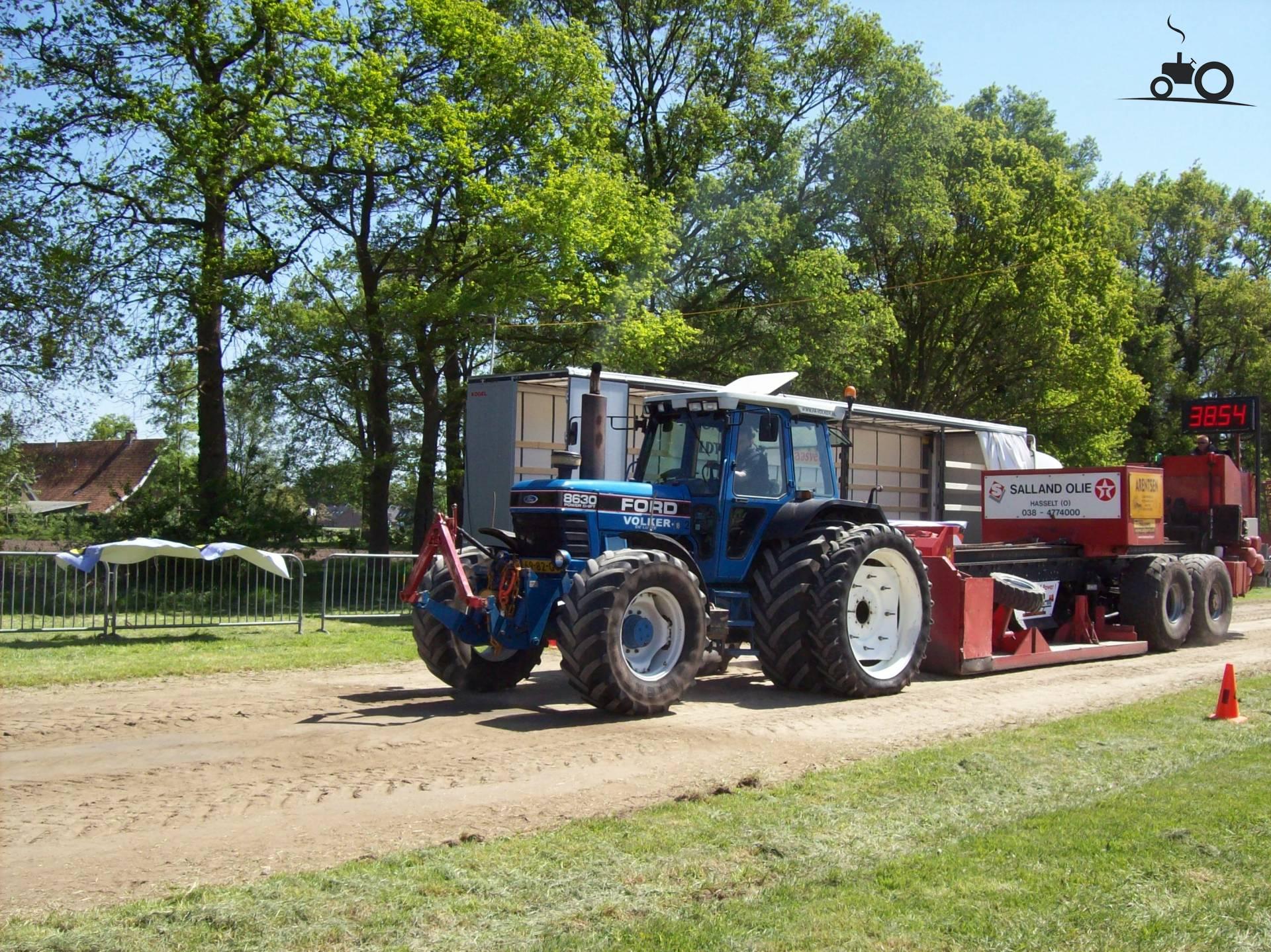 Купить трактор Ford 8630, год 1996, 6900 часов, по цене 1 ...