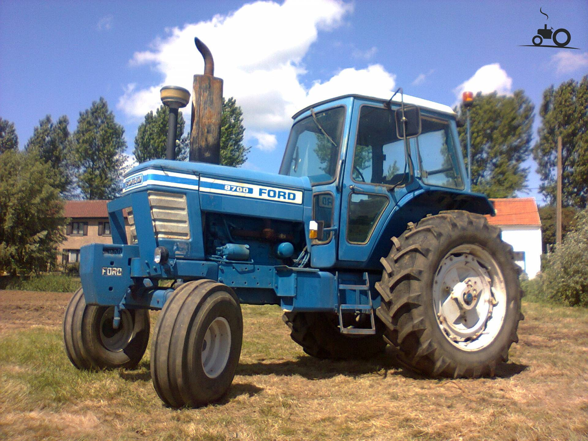 Ford 8700 Tractor : Not found